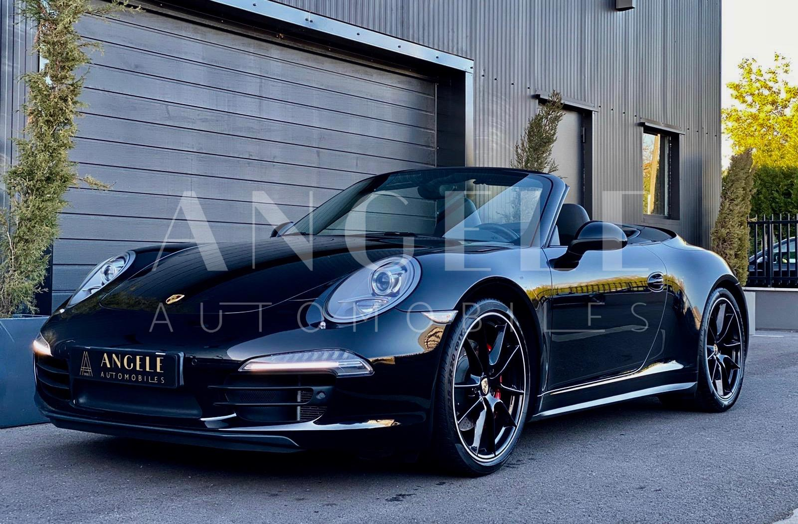 Porsche 991 cabriolet noire