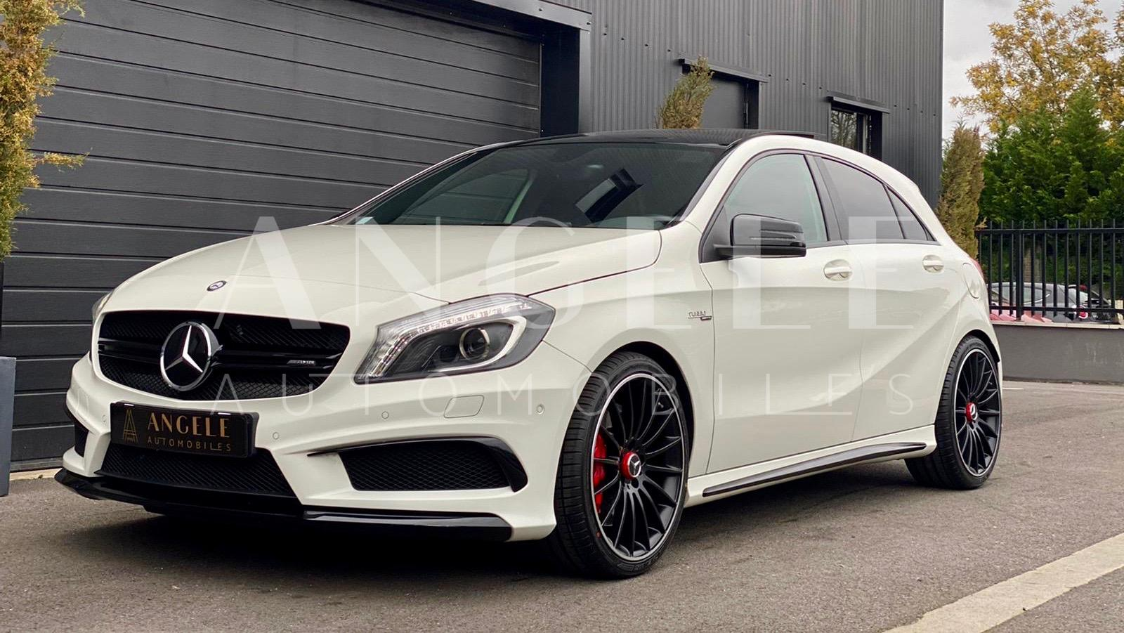 Mercedes A45 AMG Blanche