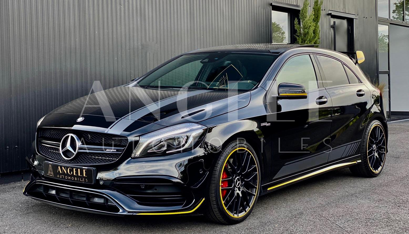 Mercedes A 45 AMG Black & Yellow Toulouse