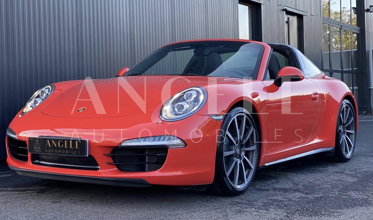 Porsche 991 Targa 4 S Orange fusion