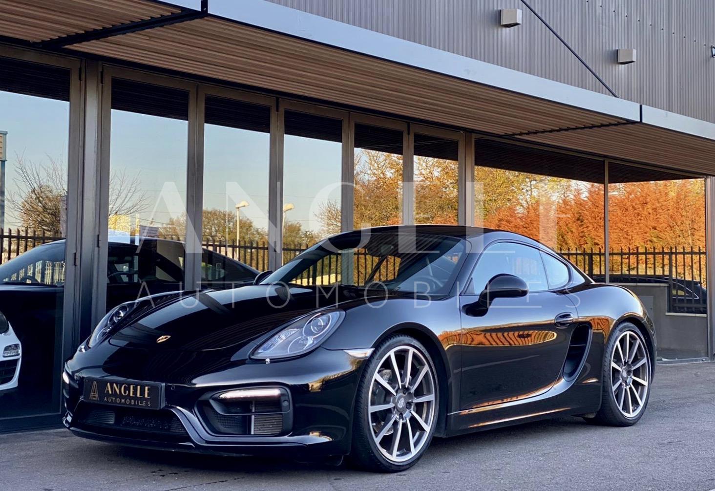 Porsche Cayman BLACK EDITION TOULOUSE