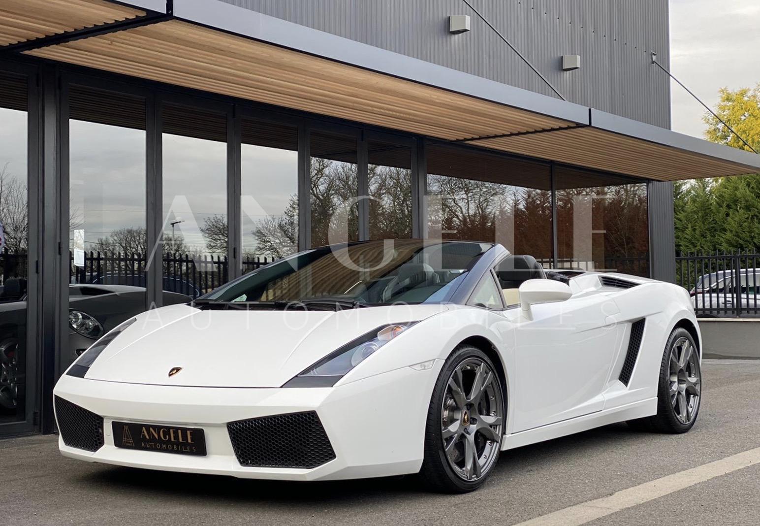 Lamborghini Gallardo Spyder - Angelé Automobiles