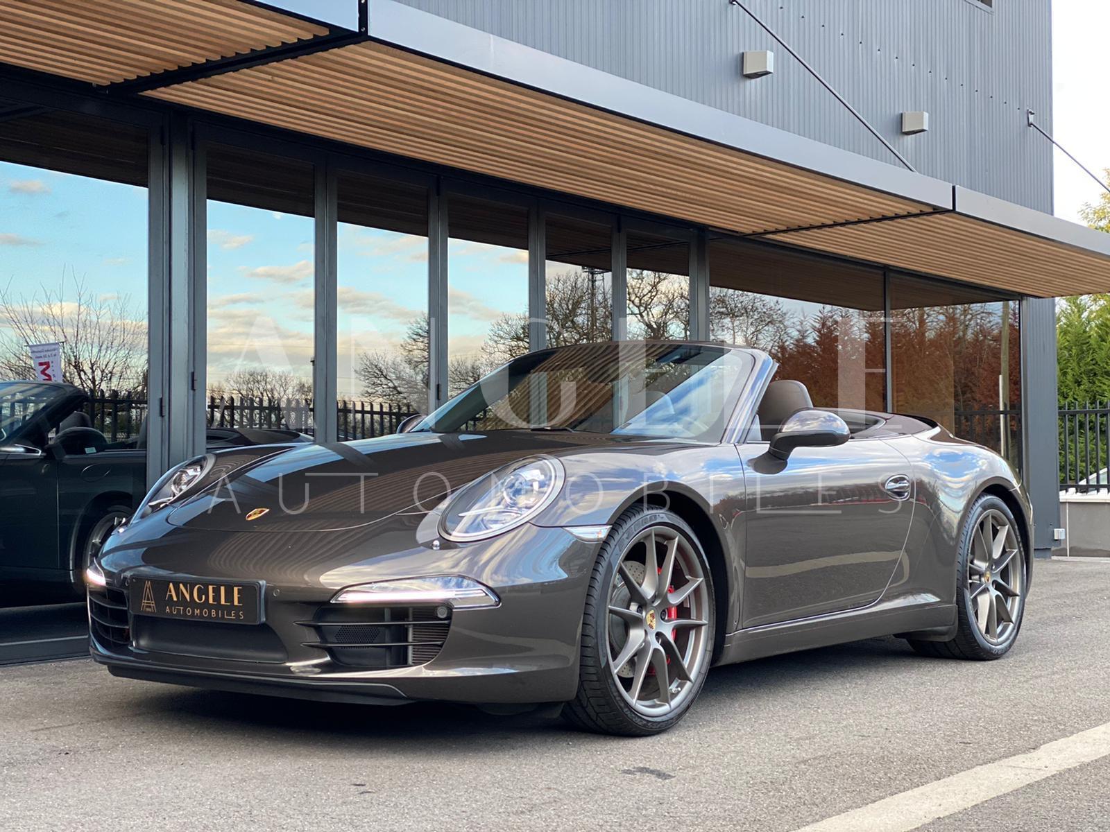Porsche 911 cabriolet - Angelé Automobiles