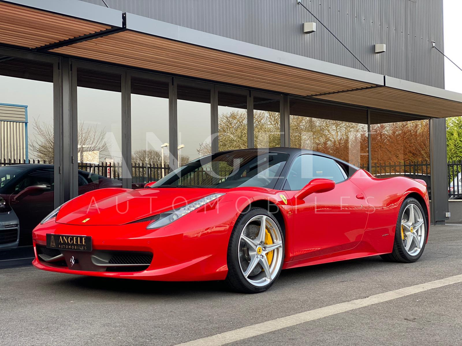 FERRARI 458 ITALIA - Angelé Automobiles