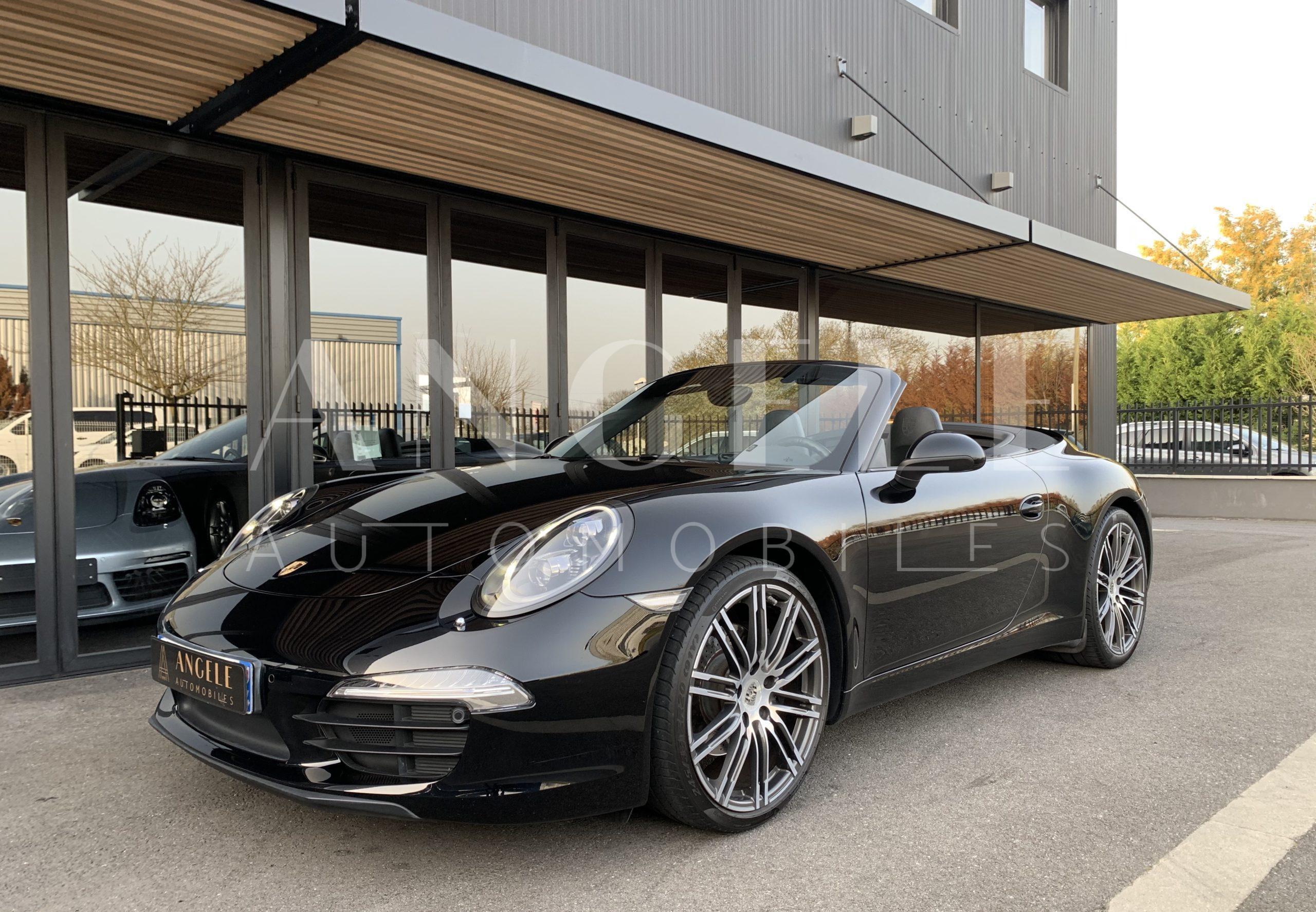 PORSCHE 911 CABRIOLET BLACK EDITION - Angelé Automobiles
