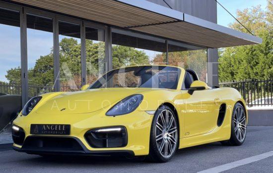 PORSCHE BOXSTER GTS - Angelé Automobiles