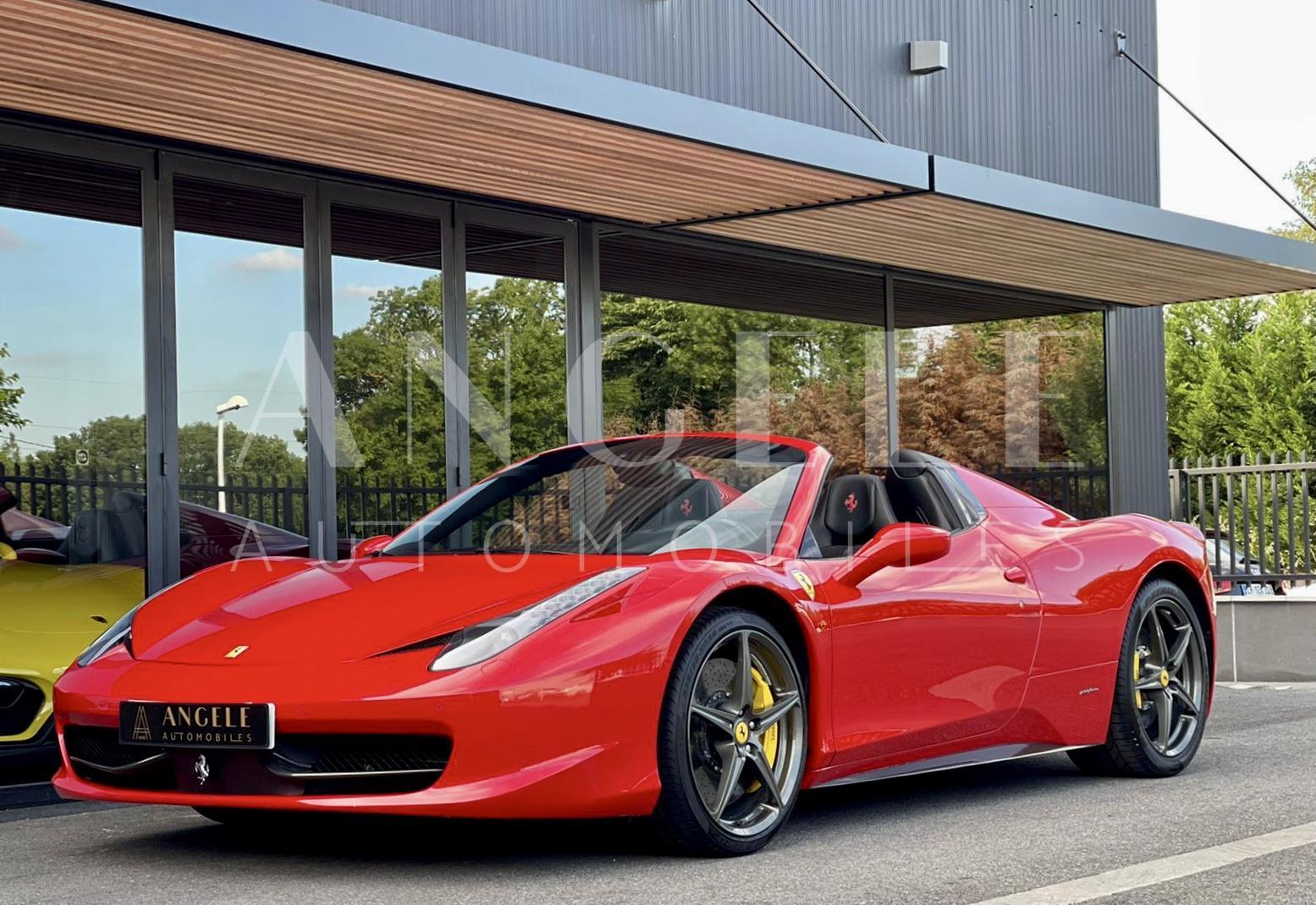 Ferrari 458 Spider - ANGELE AUTOMOBILES