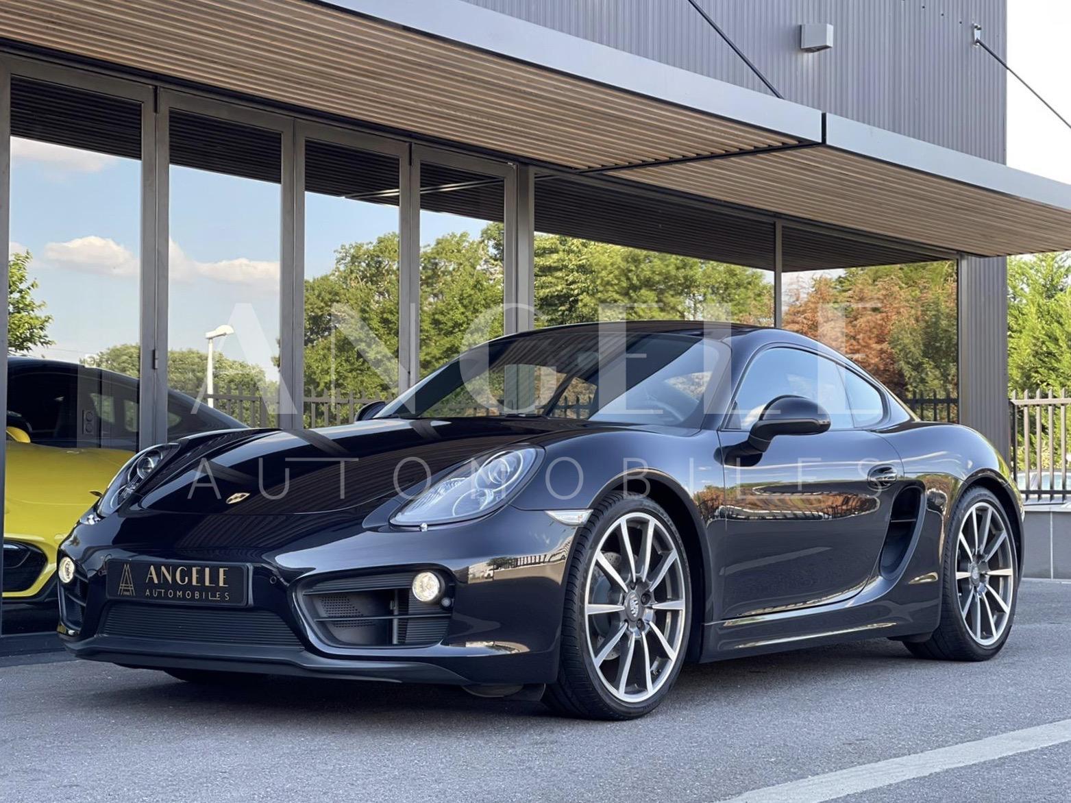 Porsche Cayman Black edition - ANGELE AUTOMOBILES